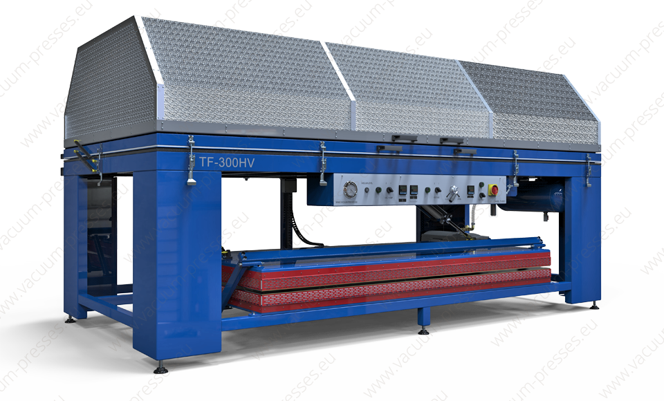 Vacuum press TF-300HV for thermoforming