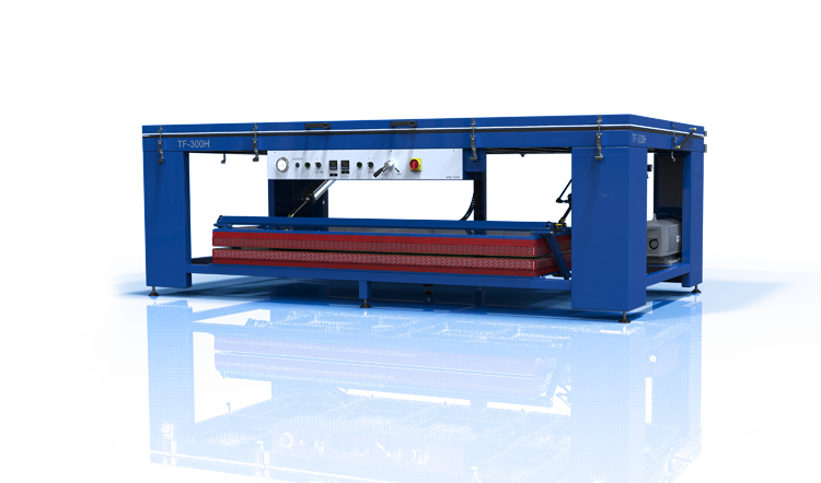 Membrane press TF-300h/350H for forming of solid surface materials